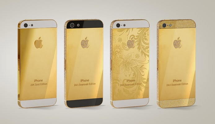Clever Bulletin  Gold iPhone 5s selling like it s made of gold (VIDEO) 939b4a0cc155