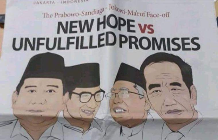 """Terungkap! Begini Penjelasan Koran Independent Observer Yang Tulis Judul """"Harapan Baru dan Janji Yang Tak Terpenuhi"""""""