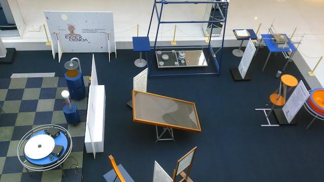 Exposição interativa ExperCiência chega ao Galleria Shopping