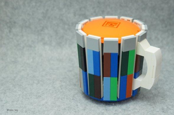 nobu_tary flickr esculturas de lego comidas caneca
