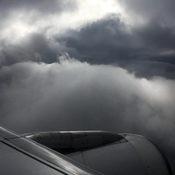 Wolken Wetter düster Sturm Turbine Tipps gegen Flugangst gefährlich