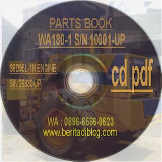 Parts Manual Komatsu WA180-1
