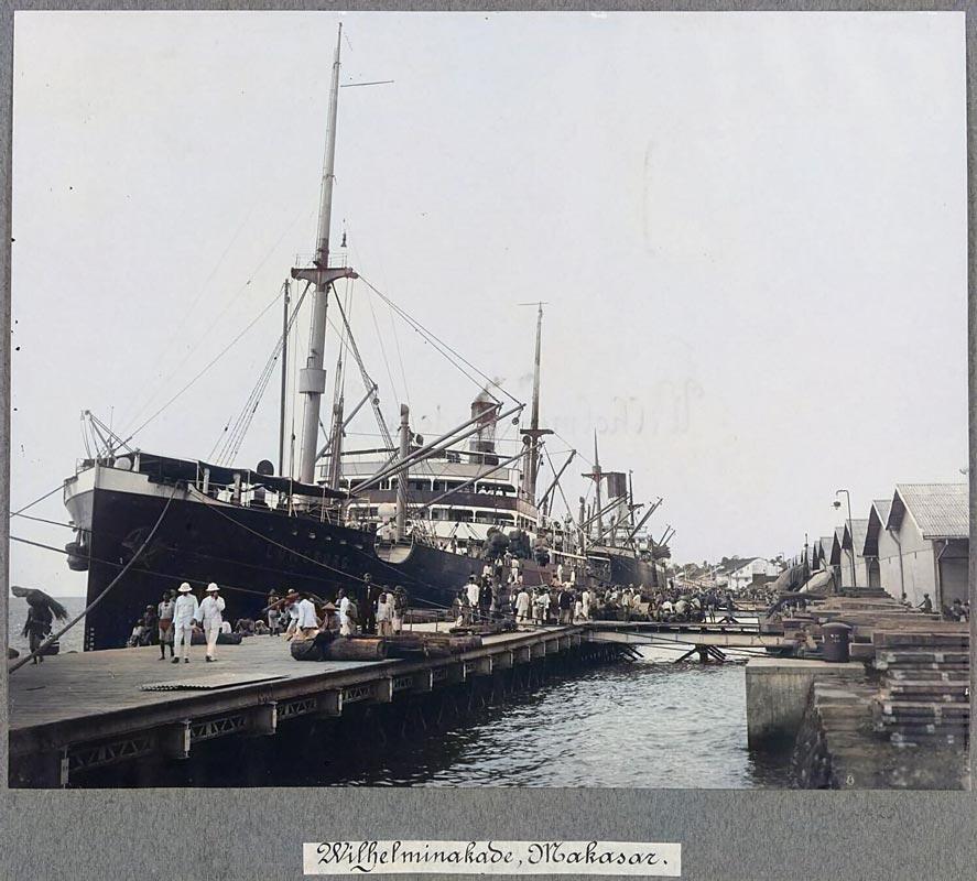 Pelabuhan Makassar tempo dulu