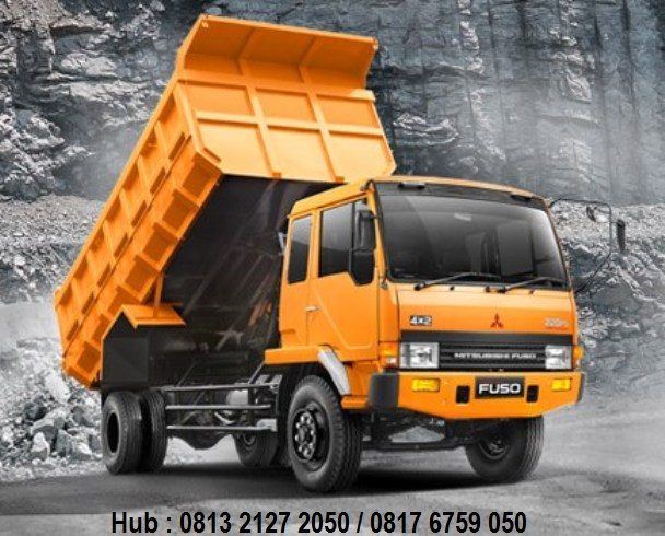 kredit dump truck fuso 2019, kredit mobil fuso dump truck 2019