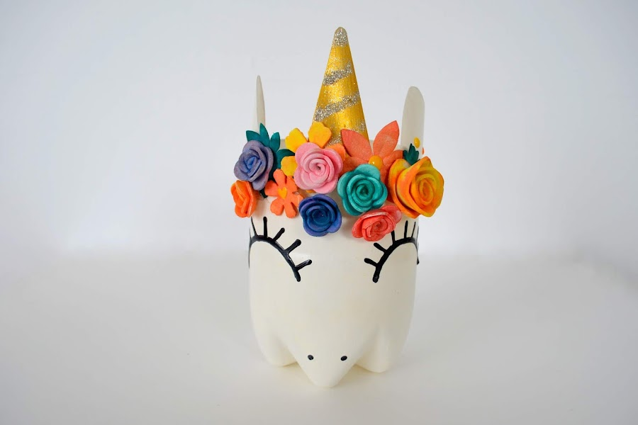 lapicero unicornio kawaii unicorn pencil pot