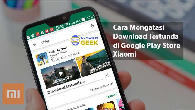 Cara Mengatasi Download Tertunda di Google Play Store Xiaomi