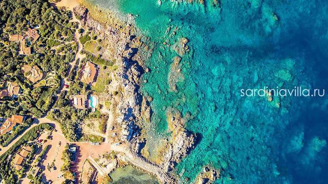 Сардиния аренда виллы на море первая линия