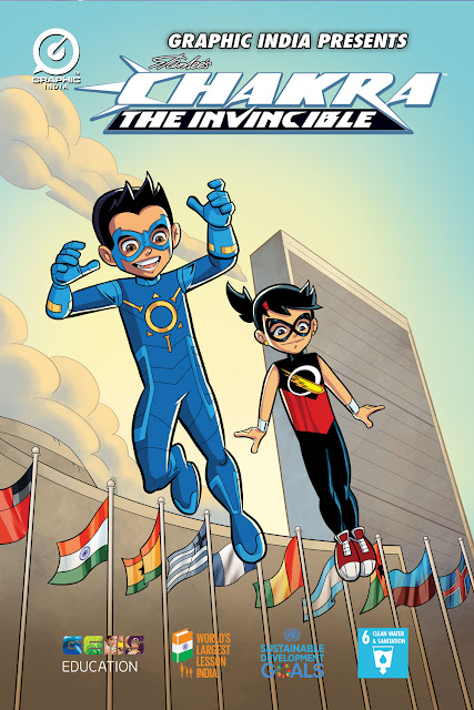 """STAN LEE'S POW! ENTERTAINMENT & GRAPHIC INDIA'S """"MIGHTY GIRL,"""""""