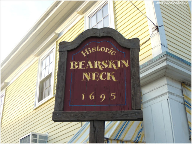 Calle Principal de Rockport: Bearskin Neck
