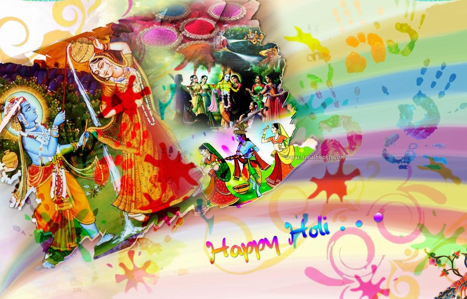 Happy Holi 2020 Wishes, Images, HD Radha Krishna Wallpaper ...