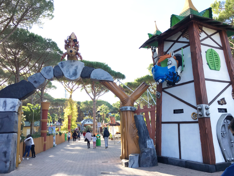 Parco divertimenti in Toscana
