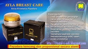 Ayla Breast Care,Cream Pembesar Payudara Alami Produk NASA