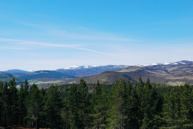 Views over royal deeside Aberdeeshire