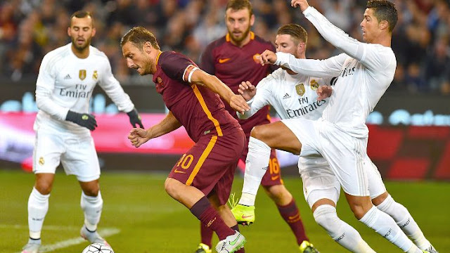 Real Madrid vs AS Roma