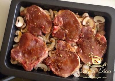 Preparare cotlet de porc la cuptor-etapa 2