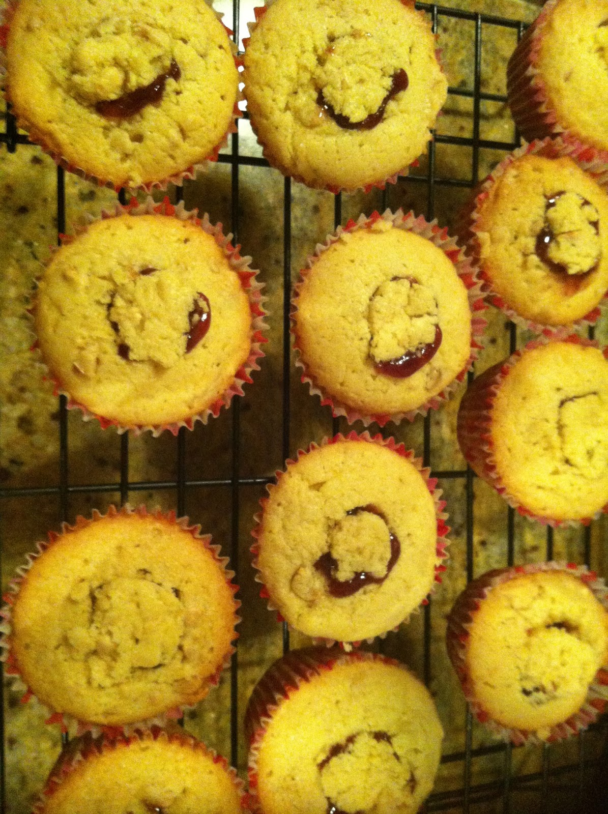 Peanut Butter and Jelly Cupcakes and Stout Cupcakes for RSPCA
