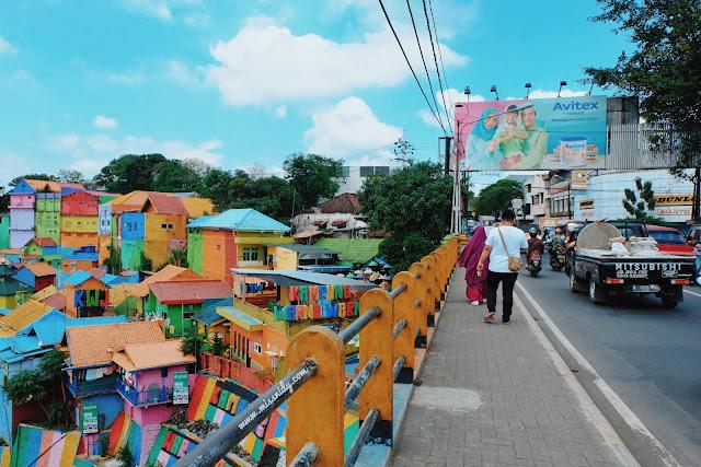 lokasi kampung warna-warni jodipan di malang