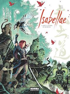 ISABELLAE 4 BAJO LA TUMBA DE 500 REYES  Comic Europeo de Raule y Gabor
