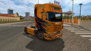 Best Orange skin for Scania R