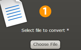 Select file to convert