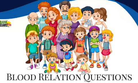 Blood Relation Questions with Answers PDF | BankExamsToday