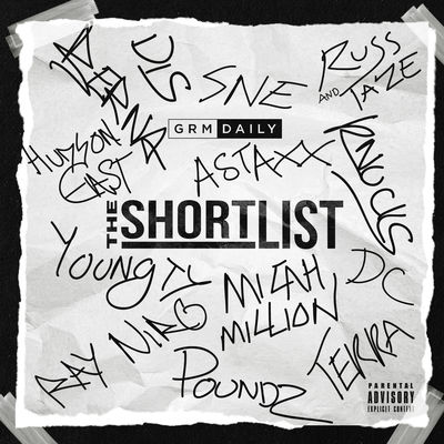 Various Artists - GRM Daily Presents: The Shortlist - Album Download, Itunes Cover, Official Cover, Album CD Cover Art, Tracklist