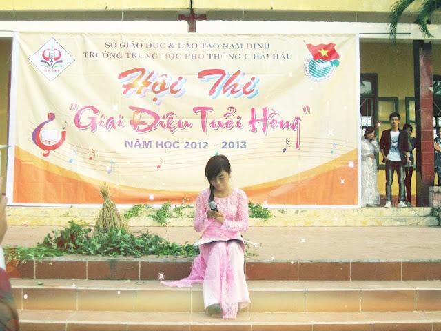 Trường THPT Hải Hậu C - Nam Định, Hai Hau C, Nam Dinh, tuổi hồng