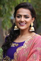 Actress Shraddha Srinath in Purple Chania Choli Cute Pics ~  Exclusive 15.jpg