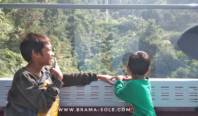 Naik Awana Sky Cable Car di Genting Highland