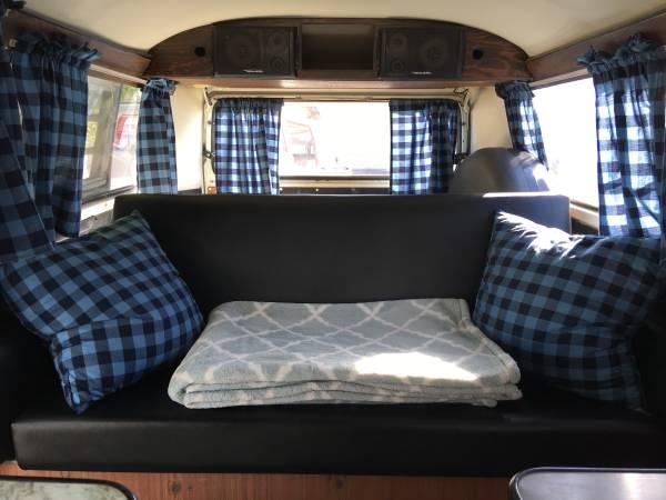 1972 VW Adventure Camper Bus   VW Bus