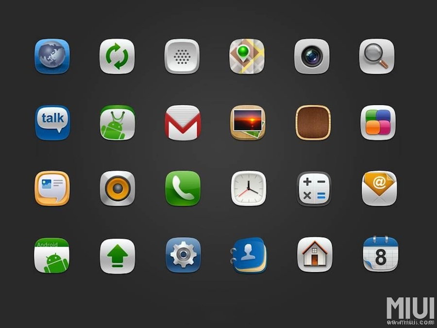 Look here this a evolution of MIUI icon in several times ...