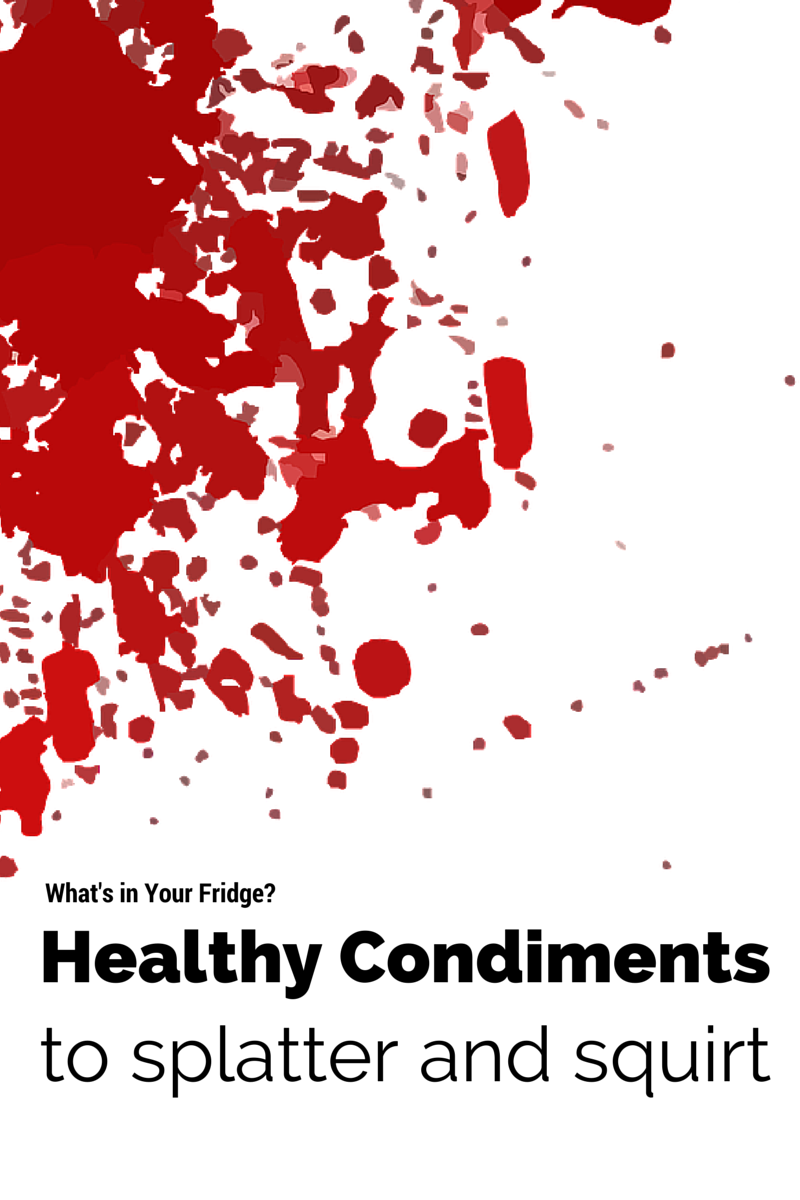 Open your fridge and review what's in the door! Healthy condiments-what to pile, squirt, splatter and spoon all over! (The Health-Minded.com) #health #food