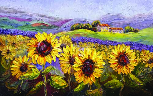 Palette Knife Painters International Quot Sun Drenched