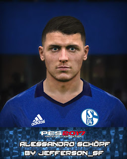 PES 2017 Faces Alessandro Schöpf by FaceEditor Jefferson_SF