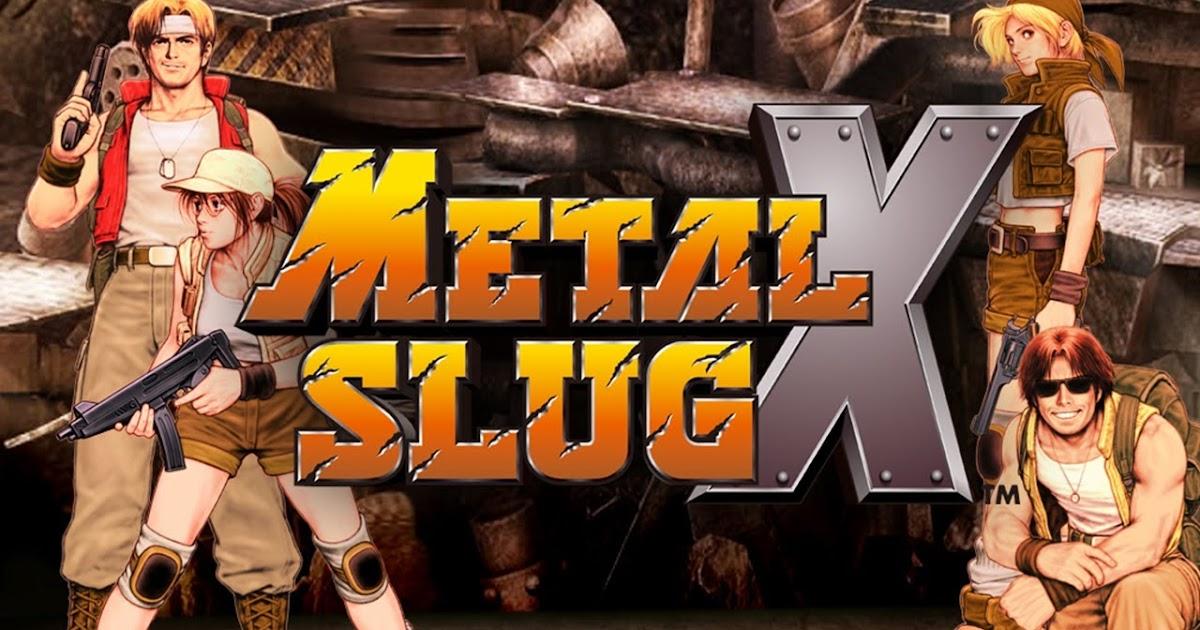download game metal slug x mod apk