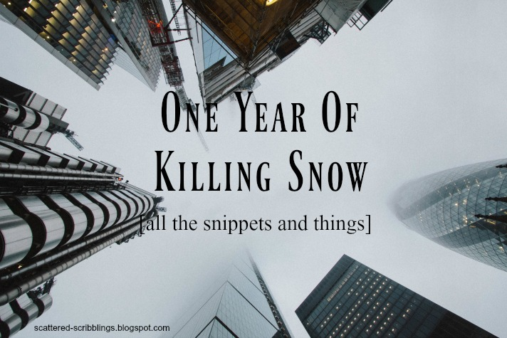 One Year Of Killing Snow
