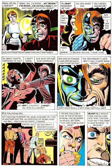 Pacific Presents v1 #3 - Steve Ditko art 1980s pacific comic book page