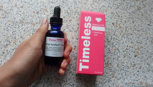 timeless organics skin care products review