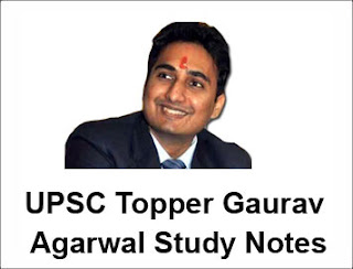 Gaurav Agarwal UPSC Topper Study Notes PDF Download