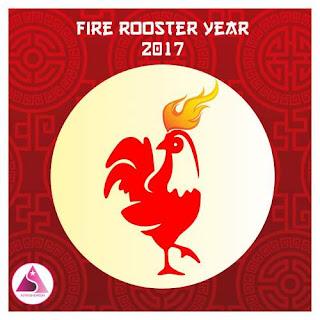 Tahun ayam api kalender Cina