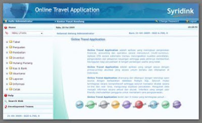 Aplikasi Software Administrator Tour dan Travel