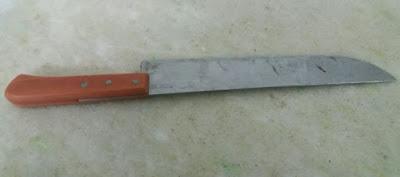Resultado de imagem para Indivíduo é preso após ameaçar sua irmã com um facão