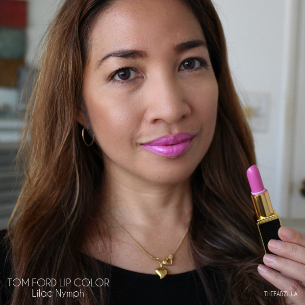 tom ford lip color fall 2015 collection, review, swatch, tom ford lip color lilac nymph