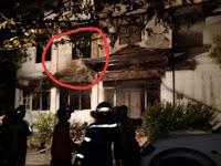 Kebakaran Gudang Angker Bikin Geger, Ada Penampakan Pocong Terjebak di Dalamnya