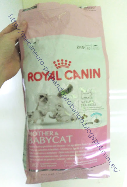 Royal Canin Mother & Babycat pienso para gatitos cachorros