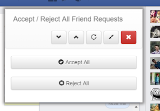 how to accept all friend requests in mobile