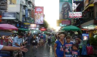 Bangkok, Khaosan Road.