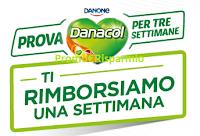 Logo Prova Danacol per 3 settimane e ricevi il rimborso di 8€ equivalente a 7 bottigliette