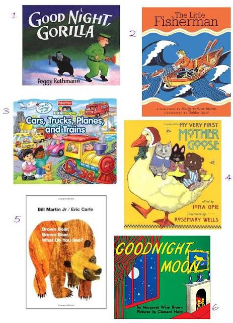 Favourite Toddler Books