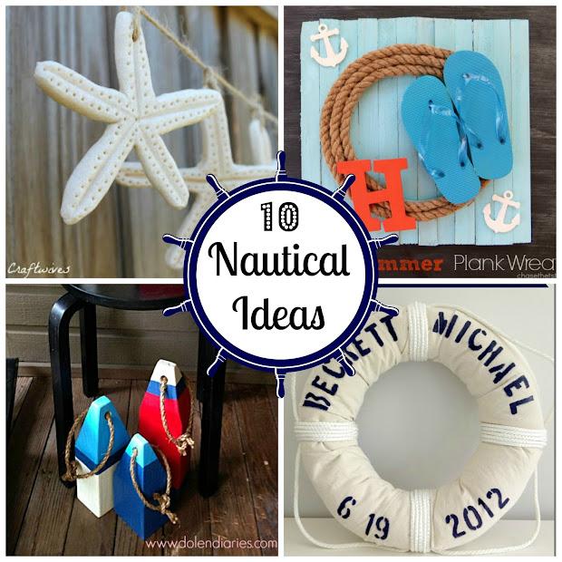 DIY Nautical Decorating Ideas